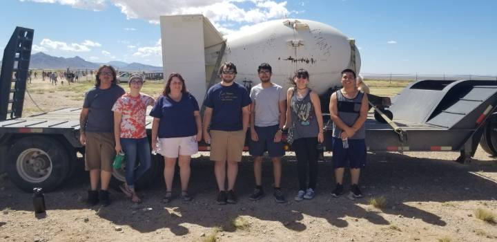 Physics Club at the Trinity Site
