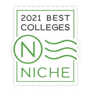 Niche.com 2021 Best Colleges Logo