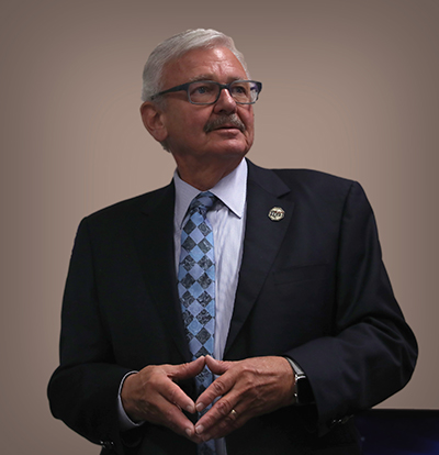 Image of NMT President Stephen Wells.